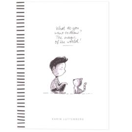 Paperfuel -Tekenblok A4 - What do you draw? - 40 vellen
