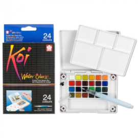 Sakura Koi Water Colors Brush Set - 24 kleuren