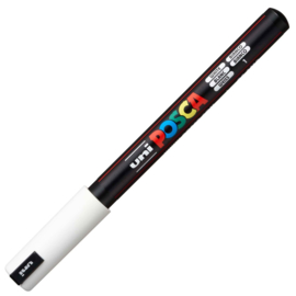 Uni Posca Paint Marker PC-1MR - Ultra Fijn - Wit