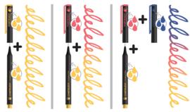 Chameleon Fineliners Floral Colors - set van 6
