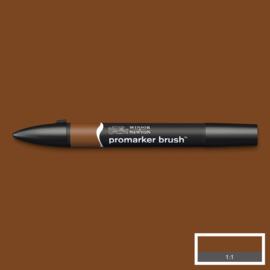 Winsor & Newton promarkers Brush - Burnt Sienna