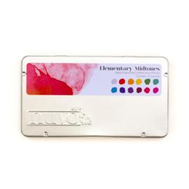 Nuvo watercolour potloden - Elementary Midtones 523N - set van 12
