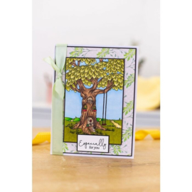 Crafter's Companion Lee Holland Clearstamp - Treehouse