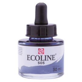 Talens Ecoline Vloeibare waterverf 30 ml - 505 ultramarijn licht
