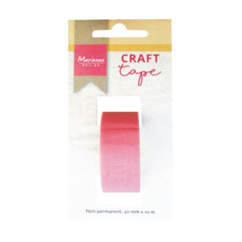 Marianne Design craft tape Non-permanent roze - 20 mm x 10 m