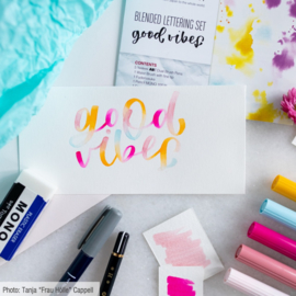 Tombow Blended Lettering Good Vibes set - set van 10