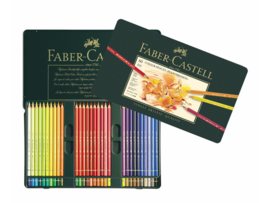 kleurpotlood Faber Castell Polychromos 3,8mm kerndikte - set van 60