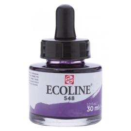 Talens Ecoline Vloeibare waterverf 30 ml - 548 blauwviolet
