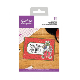 Crafter's Companion clearstamp - Sorry Santa