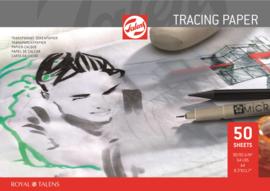 Tekenblokken, Grafiet- en transparant papier