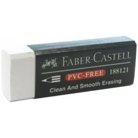Faber Castell gum PVC-free - wit