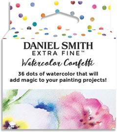 Daniel Smith Extra Fine Dotcard Watercolor Confetti Aquarelset - set van 36 kleuren