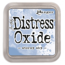 Tim Holtz Distress Oxide Inkt Pads groot - stormy sky