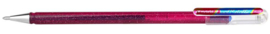 Pentel Hybrid Dual Metallic gelpen  K110 1,0 mm - Roze/Metallic Blauw - Limited Edition