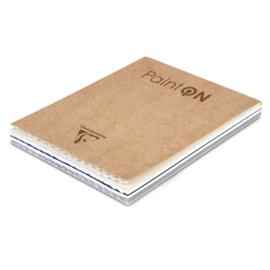 Clairefontaine Paint-ON Multi-Technique & mixed media 13,9 x 21,5 cm - 50 vellen - 250 grams - mix papier