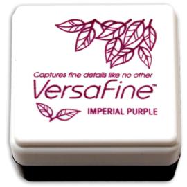 Tsukineko VersaFine inktpad 3 x 3 cm - watervaste inkt -  Imperial purple