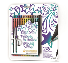 Chameleon Fineliners Bold Colors - set van 24