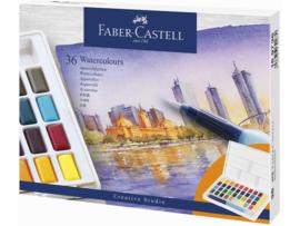 Faber-Castell aquarelverf - Box met 36 kleuren