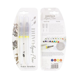Nuvo Aqua Flow Water Brush pennen 889N - set van 2