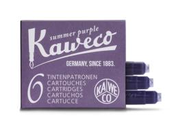 Kaweco inktpatronen - set van 6 - Summer Purple