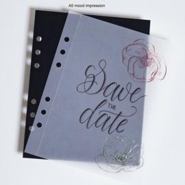 MyArtBook papier A4 - 20 vellen - 140 grams - Transparant papier