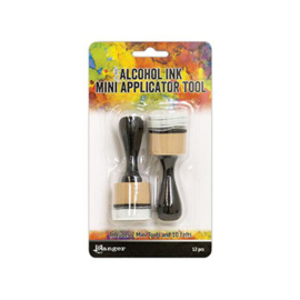 Tim Holtz alcohol ink applicator tool - set van 2 + 10 pads