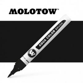 Molotow Aqua Color Brush Pen 022 Deep Black
