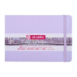 Talens art creation Brush / Schetsboek 21 x 15 cm - 80 vellen - Pastel Violet