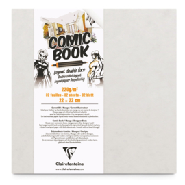 Clairefontaine Comic Book alcohol marker papier - 32 vellen - 22 x 22 cm