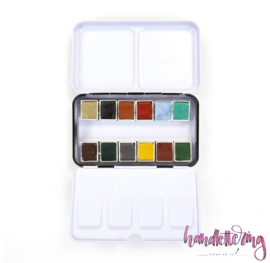 Prima Marketing Confections Aquarelverf Woodlands - set van 12 kleuren