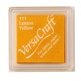 VersaCraft inktkussen small - Lemon Yellow