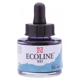 Talens Ecoline Vloeibare waterverf 30 ml - 551 hemelsblauw licht
