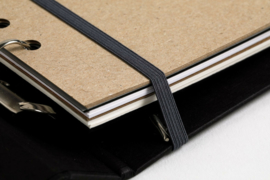 MyArtBook Kunstenaarsmap A4 - Zwart