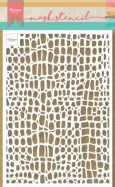 Marianne Design Mask stencils - Reptiel - A5