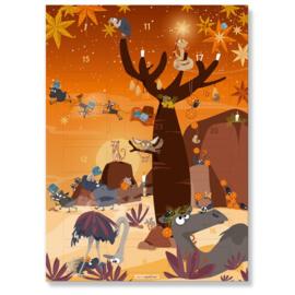 Cats on Appletrees - Advent Calendar met Mini stempels - set 3 + GRATIS BINGOKAART