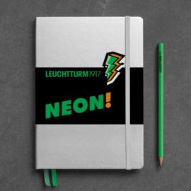 LEUCHTTURM 1917 bulletjournal / Notitieboek A5 - Dotted - Neon Groen