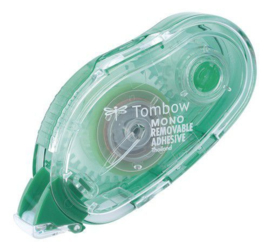 Tombow PN-MK Glue Tape - Refillable - non-permanente lijmroller
