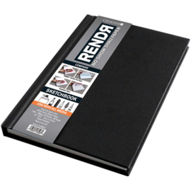 Rendr Alcohol Marker Sketchbook 14 x 21,6 cm - 96 pagina's - 180 grams Wit