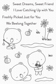 My Favorite Things clear stamps - set van 18 - We Beelong