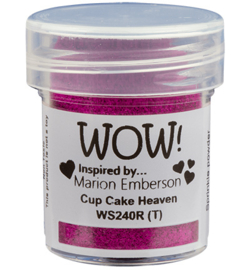 WOW embossing Glitter - Cup Cake Heaven WS240R