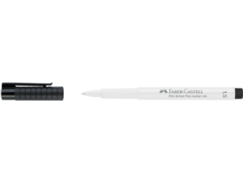 Faber Castell Tekenstift  Pitt Artist pen 1,5 mm - 101 wit