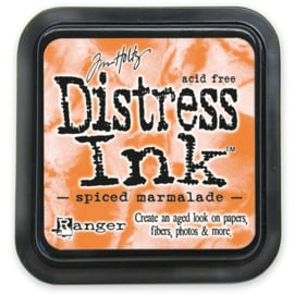 Tim Holtz Distress ink pad - spiced marmalade