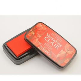Tsukineko VersaFine clair vivid inkpad 9,7 x 5,6 cm - Tulip red
