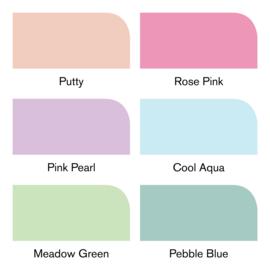 Winsor & Newton promarkers Brush - Pastel tones - set van 6