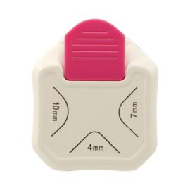 3 in 1 Label pons -Hoekpons