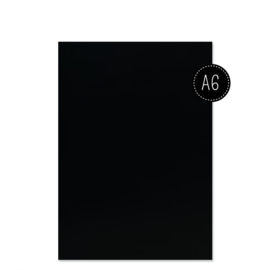 Florence Aquarelpapier smooth Black - 100 vellen 300 grams Zwart papier - A6