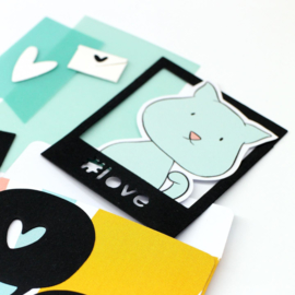 Studio Light Rub on Sticker - Karin Joan Missees Collection nr.05
