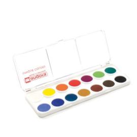 Angora Aquarelverf dekkend - set van 14 kleuren