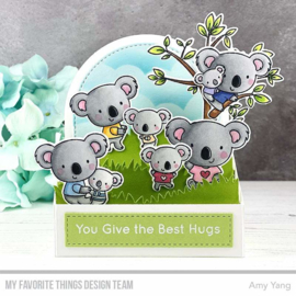 My Favorite Things clear stamps - set van 18 - Koala-ty Time