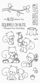 My Favorite Things clear stamps - set van 13 - BB Squirrel!
